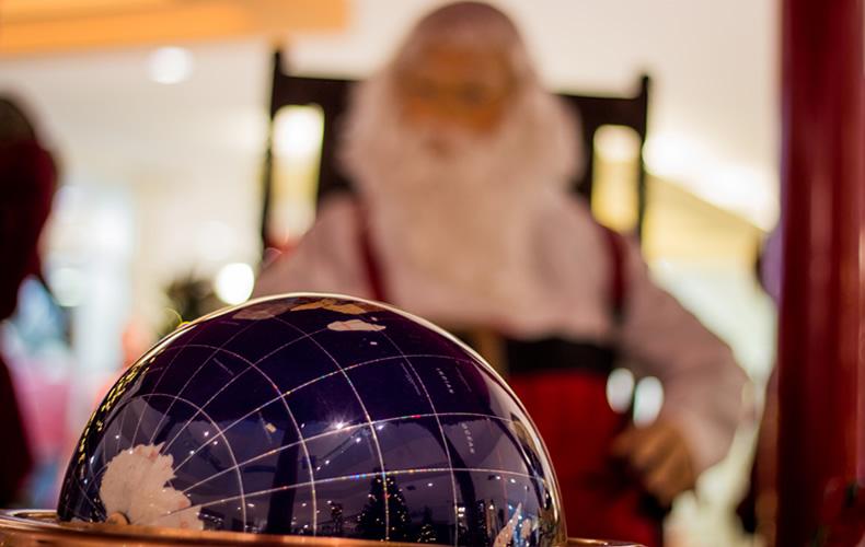 shopping1, Papai Noel, ursinhos, renas e o Natal