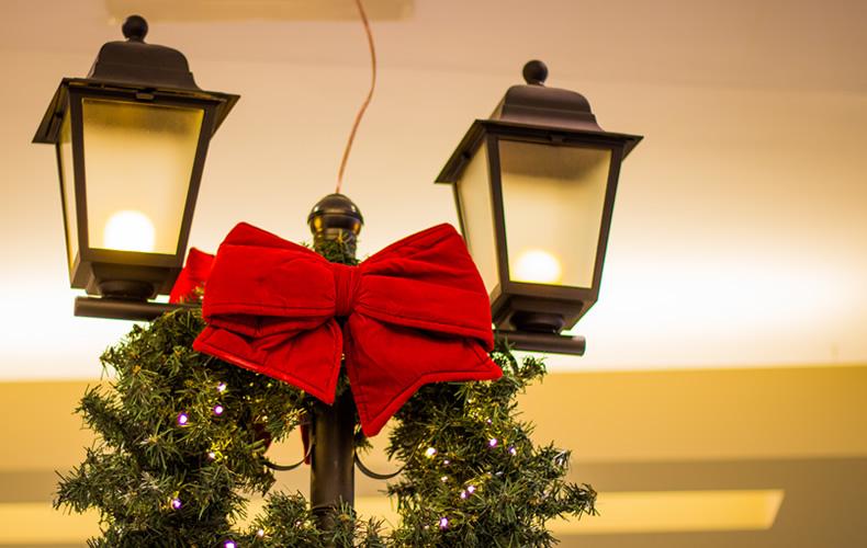 shopping3, Papai Noel, ursinhos, renas e o Natal
