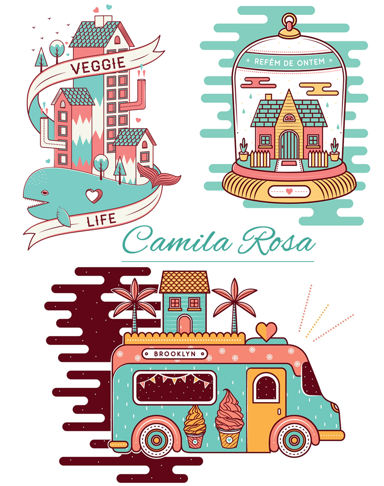 camilarosa, 6 ilustradoras que vão conquistar seu blog