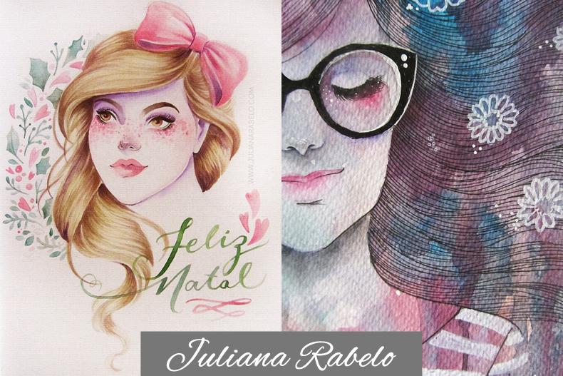 julianarabelo, 6 ilustradoras que vão conquistar seu blog
