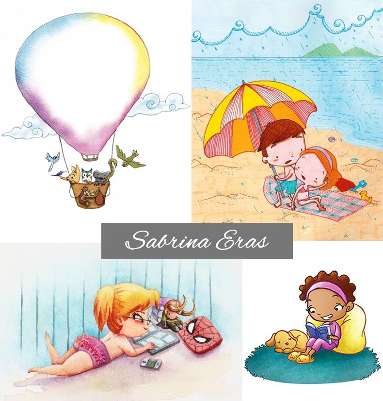 sabrinaeras, 6 ilustradoras que vão conquistar seu blog