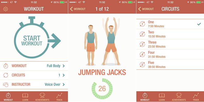 seven, 3 aplicativos grátis para pegar firme na dieta e entrar em forma