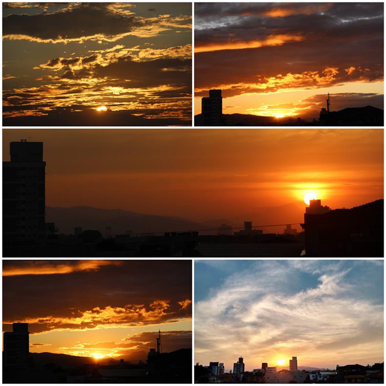 pordosol, BEDA #15: Pôr do sol visto da janela do meu quarto