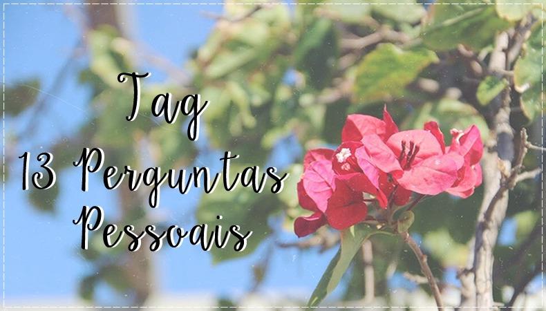 tagpp, BEDA #3: Tag 13 Perguntas pessoais