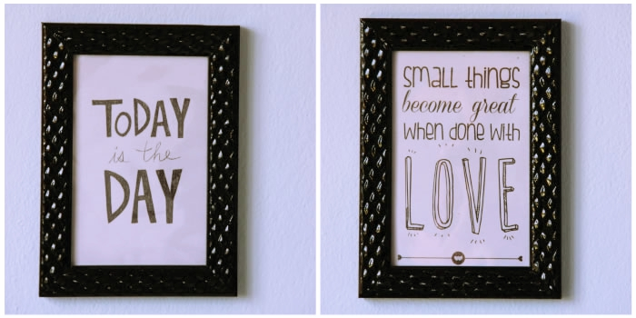 DIY: faça lindos quadros para decorar sua casa